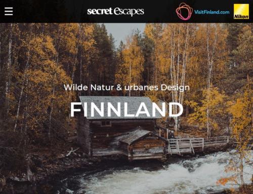 Secret Escapes Media Sales: Finnland-Microsite