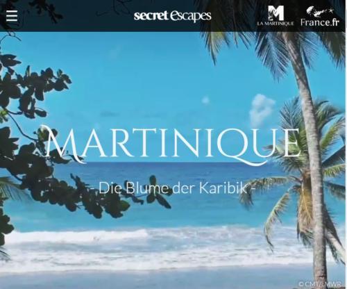 Secret Escapes Media Sales: Martinique-Microsite